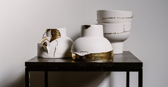 Milly Dent Ceramic Vases
