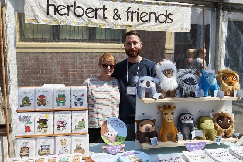 Herbert and Friends, Makers Market