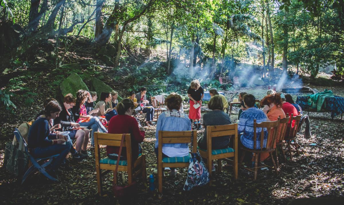 Jamboree workshop. Photo by Jon Harris