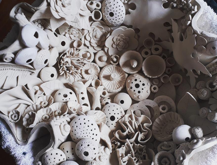 Svetlana Panov,  Sculpture 1 (2019) Ceramic