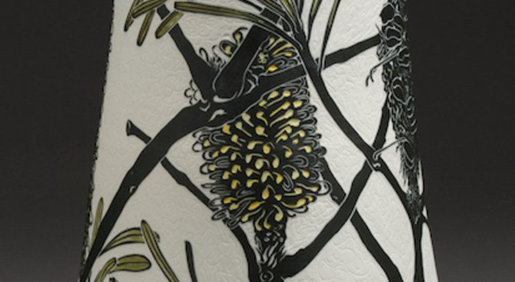 Cathy Franzi Ceramics detail
