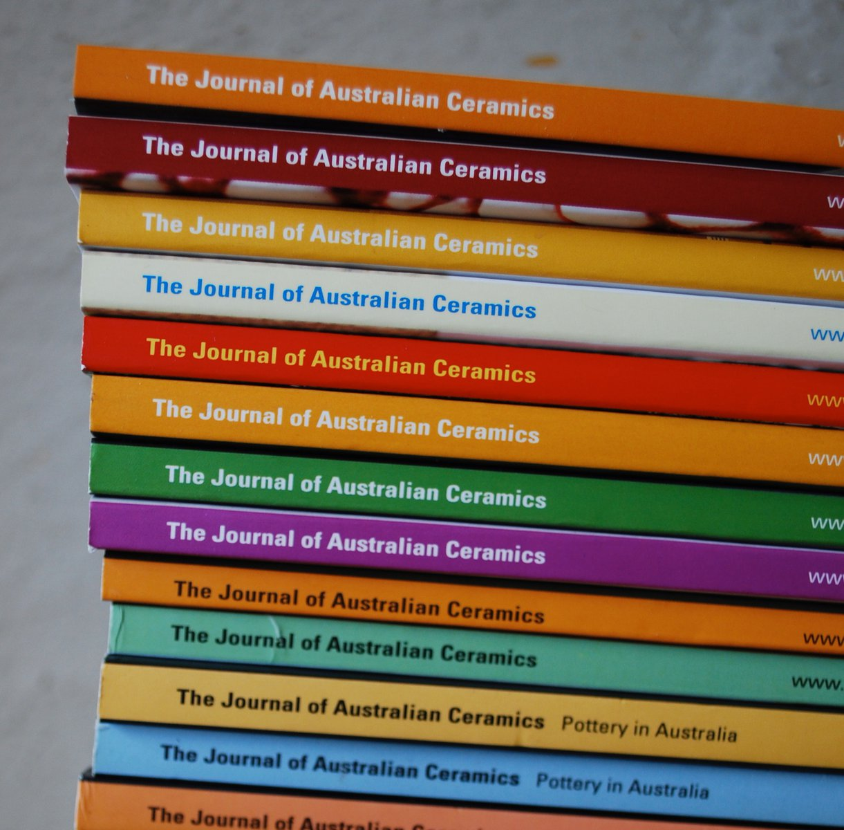 Journal of Australian Ceramics stack