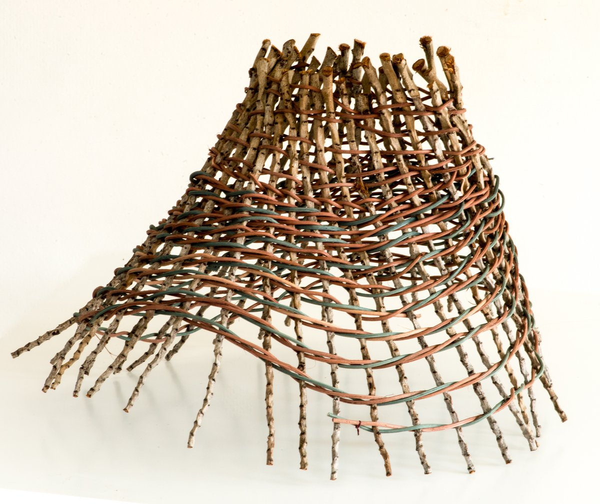 Lissa-Jane de Sailles basketry