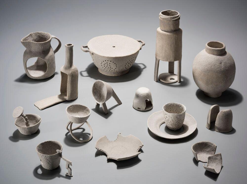 Image: Ceramics by Rachel Rigg. Courtesy UNSW Art & Design