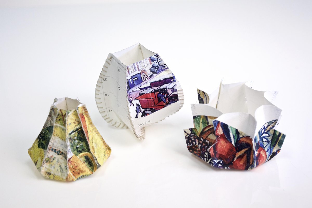 Shell Paper Sculptures by Beth Hatton