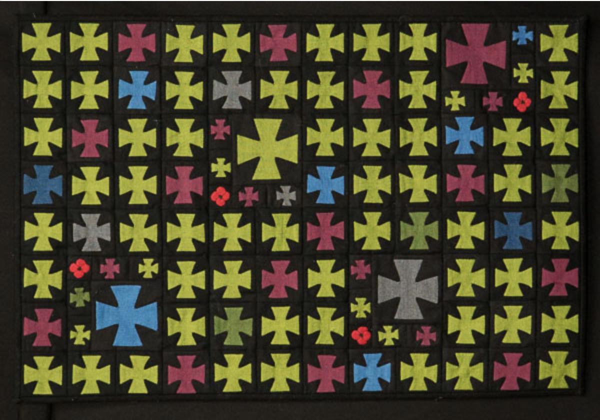 2017 QuiltNSW prize winning quilt