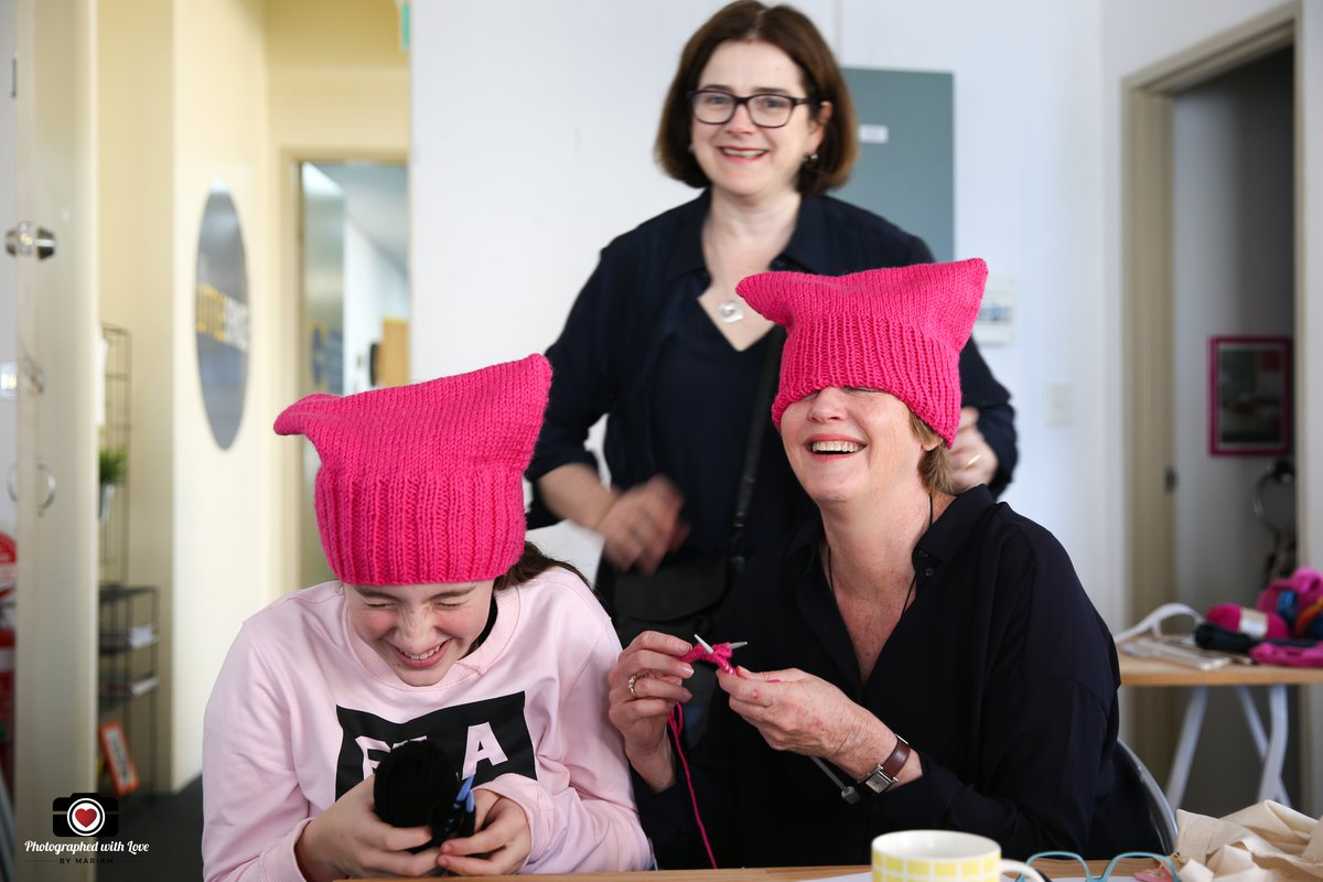 Image: Pussy Hat Project. Courtesy Shared Threads.
