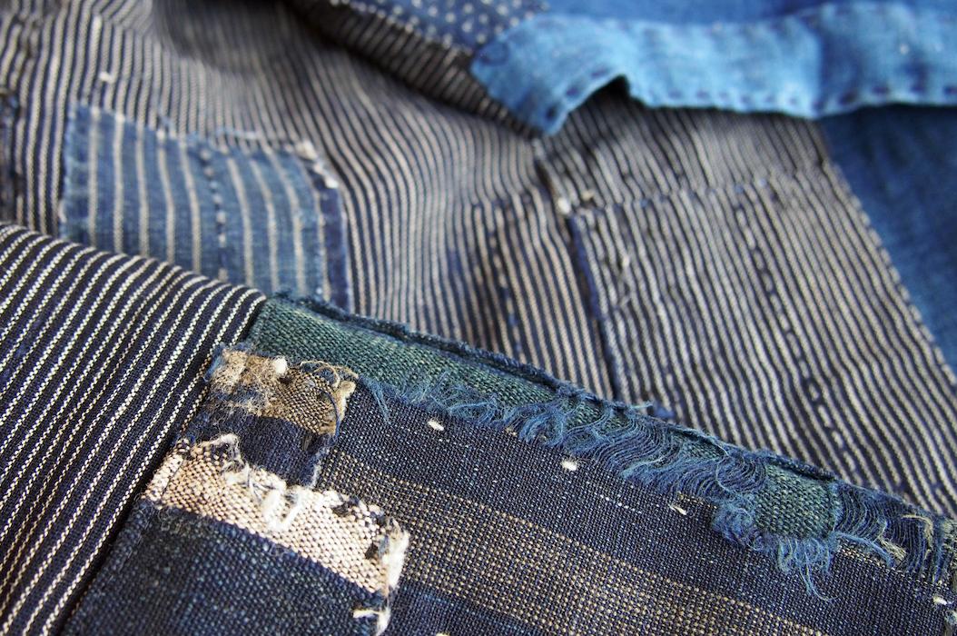 The Intuitive Thread Sasaki Yohinten boro textile detail Photograph  Eloise Rapp