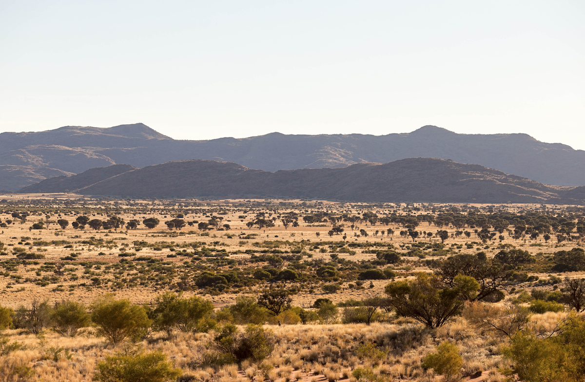 View from Womikata, Photo: Rhett Hammerton, courtesy Ernabella Arts