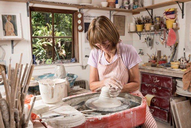Katherine Mahoney ceramic artist