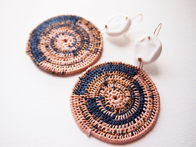 Photo of a pair of earrings