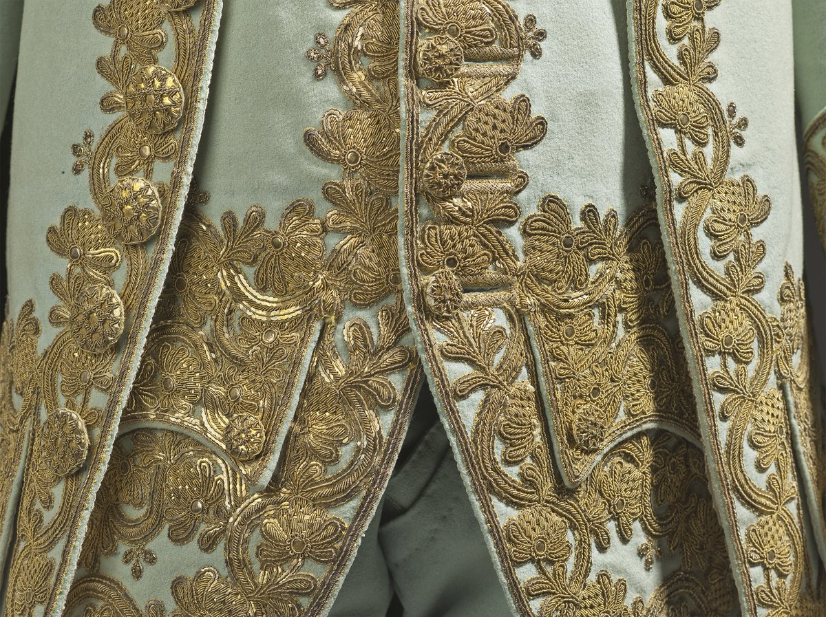Three-piece Court Suit