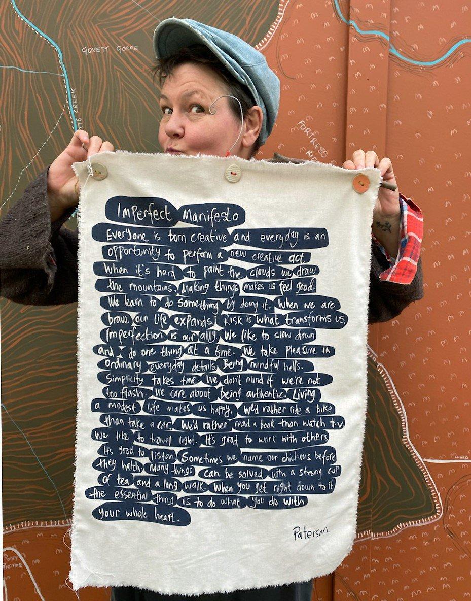 Julie Paterson Imperfect Manifesto